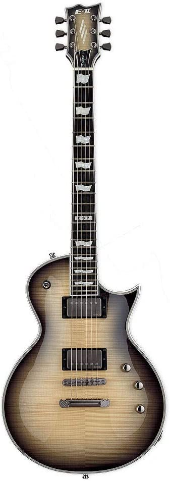 Selling ESP LTD E-II Eclipse Flame Maple 6-String Blac - Guitar Challenge the lowest price Electric