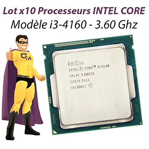 Intel Lot x10procesador CPU Core I3–41603.6GHz sr1pk 3Mo Socket 1150