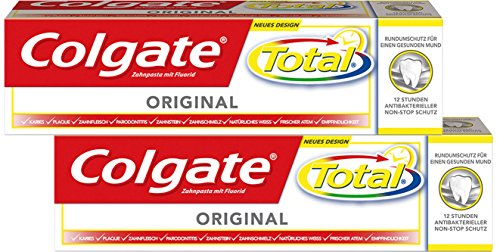 Colgate Total Original Zahnpasta, 3er Duo-Pack (3 x 150 ml)