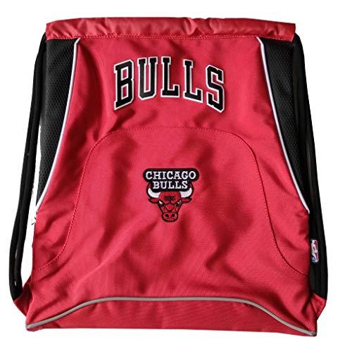 Panini Franco Cosimo - Mochila con cordón NBA Chicago Bulls 62590, Color Rojo