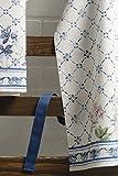 Maison d' Hermine Faïence 100% Baumwolle 1-teilige Küchenschürze mit verstellbarem Hals und versteckter Mitteltasche, Langen Krawatten für Frauen/Männer | Küchenchef | Kochen(70cm x 85cm) - 5