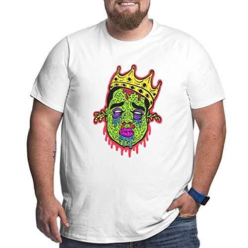 2Pac Tupac Men's Big T-shirts Plus Tee Shirts for Larger