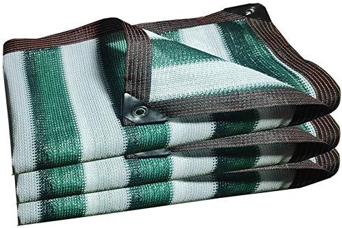 Velas de la cortina cortina de la red UV Resistente 85% Bloqueador solar pantalla de tela de protección solar for el invernadero Plantas de flores Barn Orchard Patio al aire libre, verde, 2x4m, Tamaño
