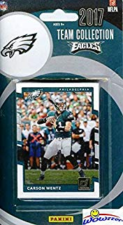 Philadelphia Eagles  2017 Donruss NFL Football Factory Sealed Limited Edition 14 Card Complete Team Set with Carson Wentz, Legend Reggie White, 5 ROOKIES & Many More! Shipped in Bubble Mailer! WOWZZER