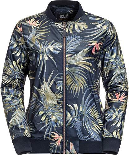 Jack Wolfskin Damen Tropical Jacke, Midnight Blue All Over, L