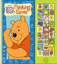 Winnie the Pooh Thinking Games (Wipe Off Sound Book) (Disney's Winnie the Pooh)