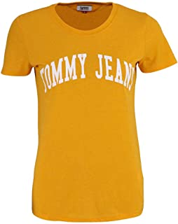 Tommy Hilfiger T-Shirts For Women, Yellow S, Size S