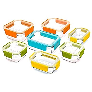 Glasslock Oven Safe 18 Pc Assorted Container Set