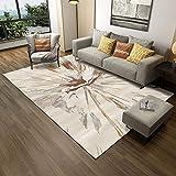 Tapis Salon canapé Table Basse Tapis Chambre Chambre Moderne Minimaliste Court Velours Rectangle -200 × 300cm