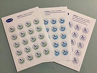 (200) Etikett Haltbarkeit 3 Monate zur Kennzeichnung des Anb
