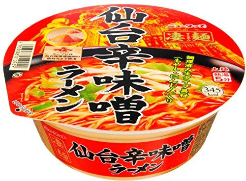 凄麺 仙台辛味噌ラーメン 151g×12個