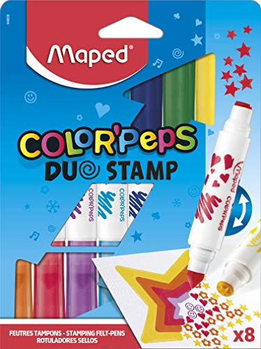 Rotuladores Color peps DUO STAMP. MAPED 846808