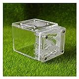 M3 Decorium Hormiga de la Granja Castle Set de plástico Hormiga de Arena Jerarquía CAGA Caja DE ECOLOGÍA ECOLOGÍA DE ECOLOGÍA EDUCATIVA DIY DIY (Color : C, Size : 7.7x6x5.3cm)