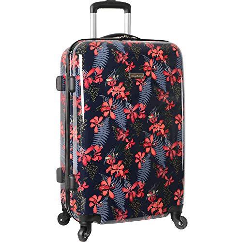Tommy Bahama Carry On Hardside Luggage Spinner Suitcase, Iris Print