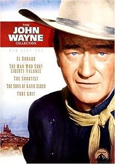 John Wayne Gift Set: (The Shootist / The Sons of Katie Elder / True Grit / El Dorado / The Man Who Shot Liberty Valance)