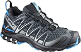 Salomon XA Pro 3D, Zapatillas de Trail Running para Hombre, Gris (Stormy Weather/Black/Hawaiian Surf), 42 2/3 EU