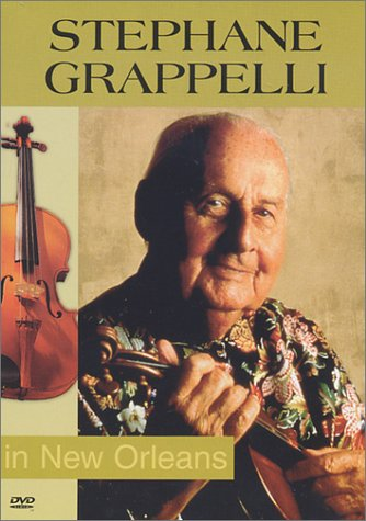 Stephane Grappelli in New Orleans
