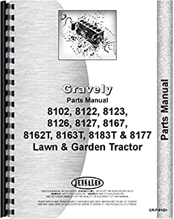 Gravely 8123 Lawn and Garden Tractor Parts Manual