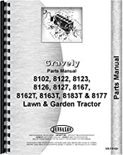 Gravely 8122 Lawn and Garden Tractor Parts Manual