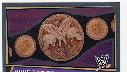 Slam Attax Superstars WWE Carte Tag Team Championship titre