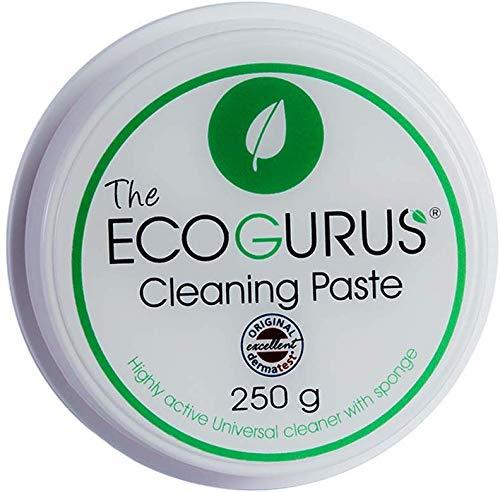Natürliche Reinigungspaste von den EcoGurus!! - Umweltfreundlicher Allzweck- & Oberflächenreiniger!! – Reinigen Sie Küche, Bad, Kalk, Trainer, Oberflächen, Garten, Möbel, usw.