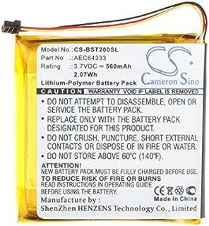 Cameron Sino AEC643333 Wireless Headset Battery for Beats Studio 2.0, 560mAh