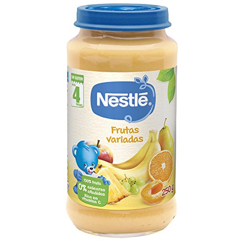 Nestlé Naturnes Alimento infantil, postre de frutas variadas - 250 gr