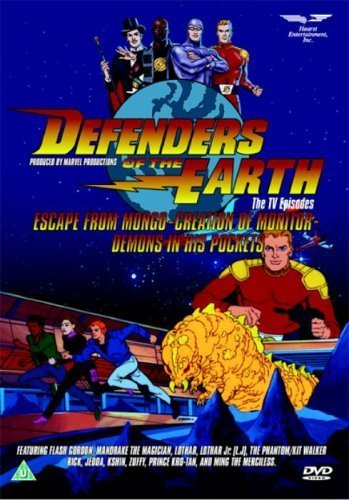DEFENDERS OF THE EARTH VOL 1 - Escape from Mongo, Creation of Monitor,Demons in hi [UK Import]