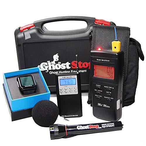 Ghost Hunting Kit with SB7 Spirit Box, EVP, EMF and Hard Case