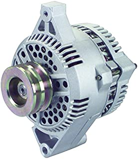 New Alternator Replacement For Ford E350 Econoline V8 7.3L 1992 F2UU-10300-DC F2UZ-10346-B F2UZ-10346-BRM F6PZ-10346-XARM2 F2UU-DC 7756-3 250-215 AFD0080 20202