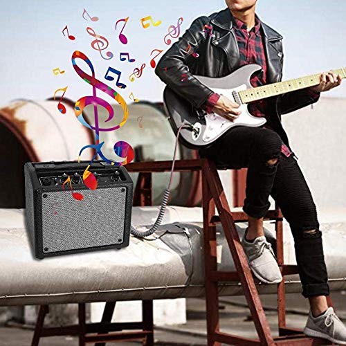 MIEMIE Amplificador De Guitarra 18 Tipos De Efectos De Caja De Ritmos,...