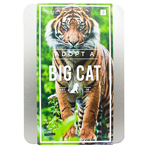 Gift Republic Coffret Cadeau Personalise it: Adopt a Big Cat Gift Box (Langue Anglaise)