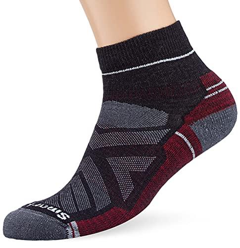Smartwool Men's Hike Light Cushion Ankle Hiking Socks, Charcoal, L