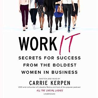 Work It audiobook cover art