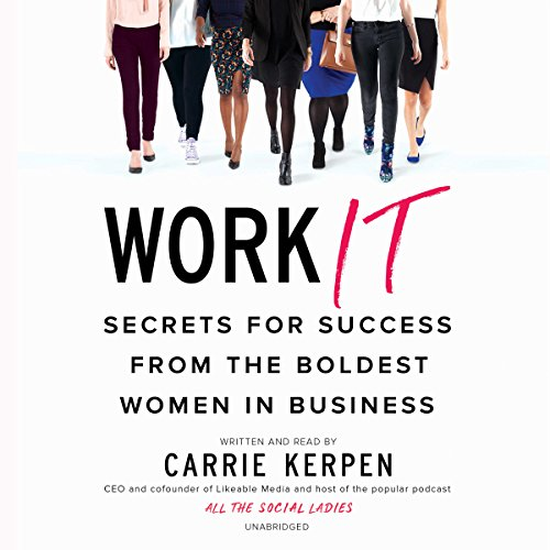 Work It audiobook cover art
