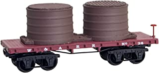 Western & Atlantic Railroad 26' Civil War Era N Scale Tank Car
