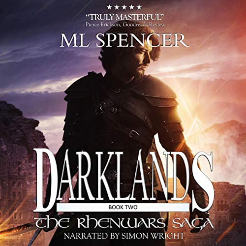 Darklands audiobook cover art