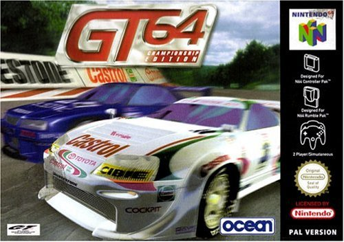 GT64 Championship edition Pal version