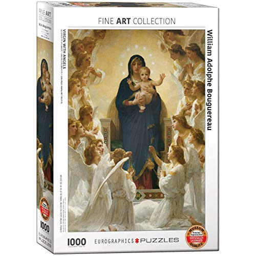 Virgin with Angels Puzzle