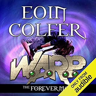 The Forever Man     W.A.R.P., Book 3              By:                                                                                                                                 Eoin Colfer                               Narrated by:                                                                                                                                 Maxwell Caulfield                      Length: 9 hrs and 23 mins     37 ratings     Overall 4.5