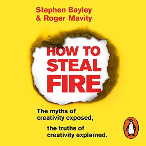 How to Steal Fire audiobook cover art