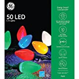 Black Friday Deal: GE Energy Smart Colorite 50-Light LED Multi-Color C9 Light Set Holiday, Party, Christmas