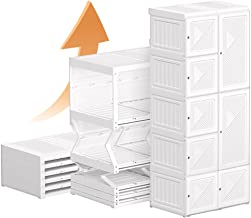 One Piece Armoire Free Installation Simple Cabinet|Space Saving Chest|Organizer Cube| Large Capacity & Strong Load-Bearing...