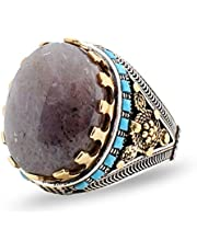 952 silver ring with Yemeni Agate