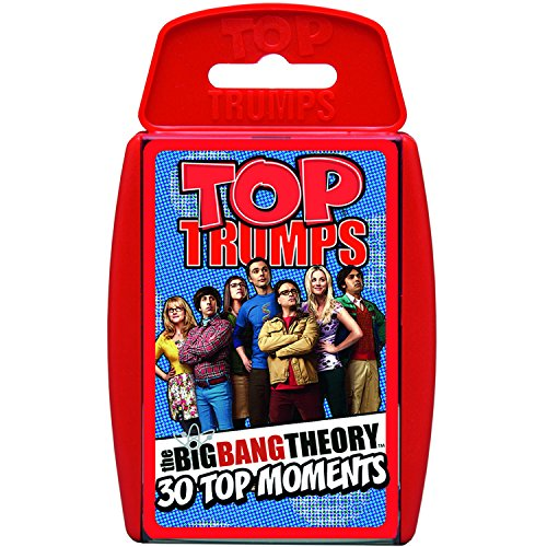 top trumps The Big Bang Theory Jeu de Cartes