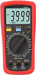 HYBJP UT39C + デジタルマルチメータ オートレンジ テスターアップ グレード済み AC DC V/Aオーム 温度 周波数 HFE NCV テスト 測定ツール