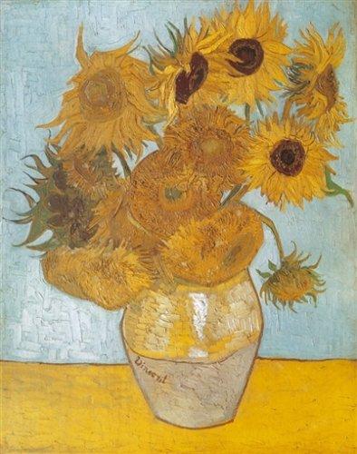Clementoni 5314386 Puzzle - Van Gogh: Vase mit Sonnenblumen (1000 Teile)