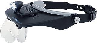 シンワ測定(Shinwa Sokutei) 双眼ヘッドルーペ W-5 LEDライト付き 75737