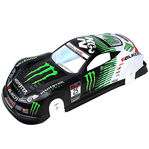 Coolplay 1/10 PVC Painted Body Shell RC Racing Car Accessories