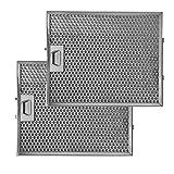 NEG Fettfilter-Set 2X FF15E-15 (Edelstahl 33,8x27,7 cm) für NEG15-ATx, NEG15-ATx+